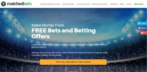 risk free matched betting from matchedbets