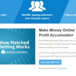 profit accumulator matched betting trial